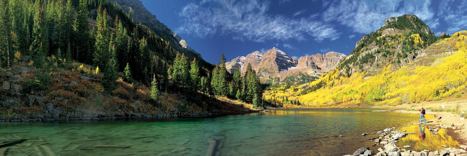 maroon bells lake at - photo #41